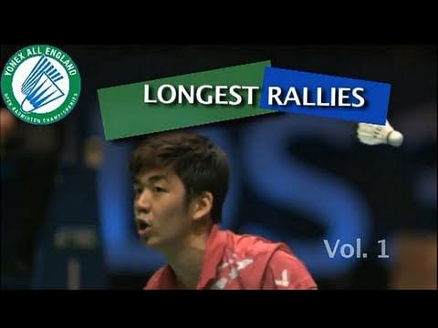 Video: All England Open's top 4 badminton rallies