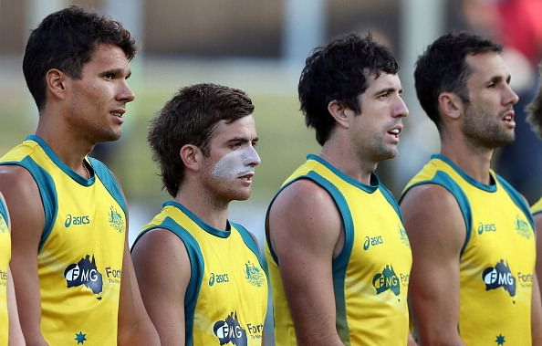 Australian men's hockey team to play four Test series against South Korea
