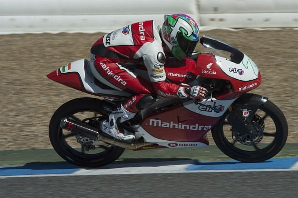Mahindra bike claims its best result yet at German Moto3 GP