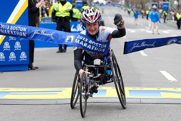 Boston Marathon wheelchair winner to race in London