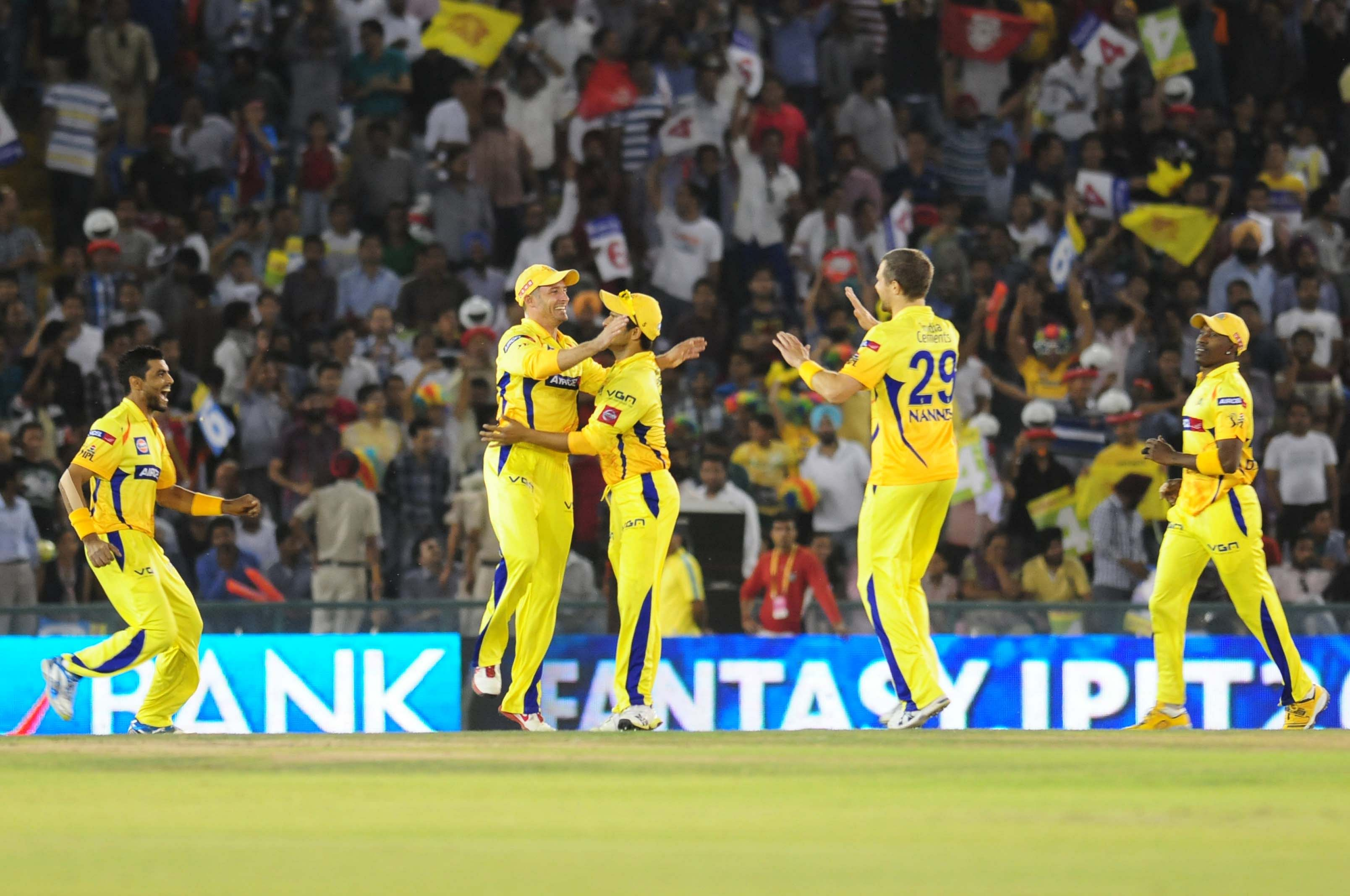 Kings XI Punjab beat Chennai Super Kings by six wickets