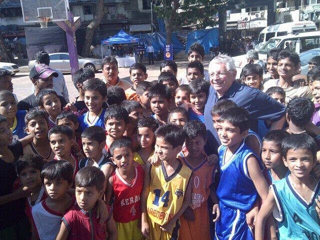 David Stern in India