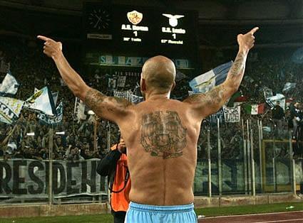 top tattoos a football xi of tattooed players