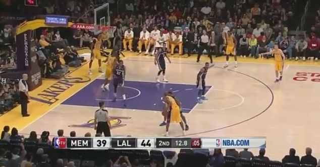 Basketball Moves Breakdown - Kobe drives, spins and fades