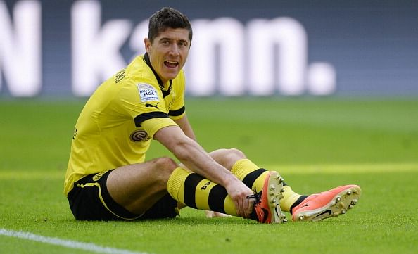 Robert Lewandowski is a target for SAF as he fancies a move away from Dortmund.