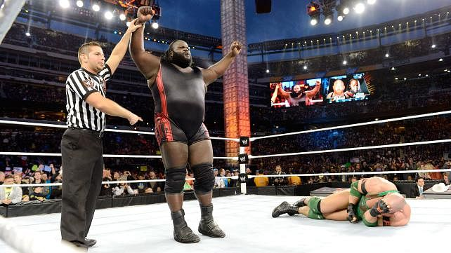 Mark Henry vs Ryback