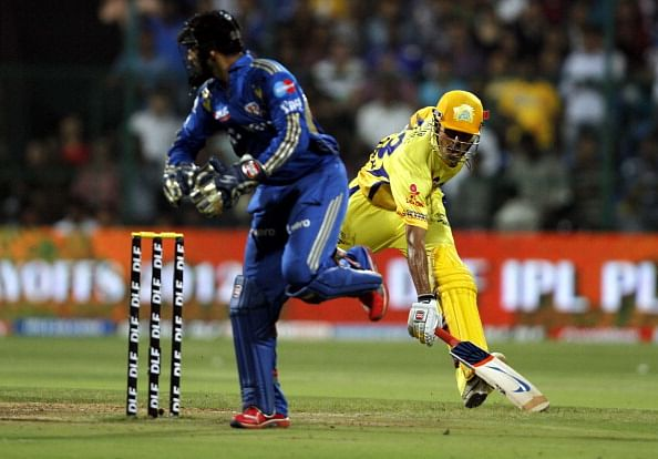 Mumbai Indians Vs Chennai Super Kings - IPL 2012
