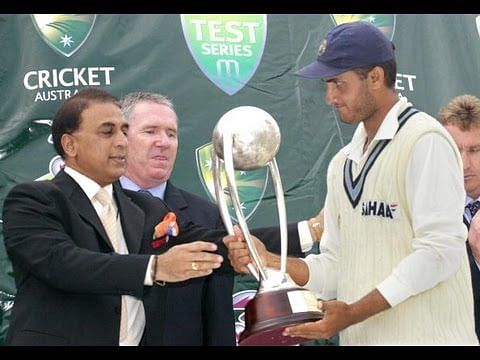 Video: Sourav Ganguly's speech after the 2003-04 Border-Gavaskar trophy