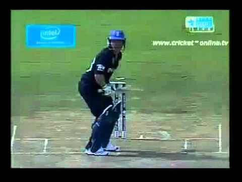 Video: Unbelievable cricket shot by Eoin Morgan