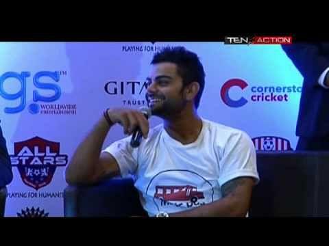 Celebrity Clasico: Kohli, Dhoni give pads a break, it's a draw