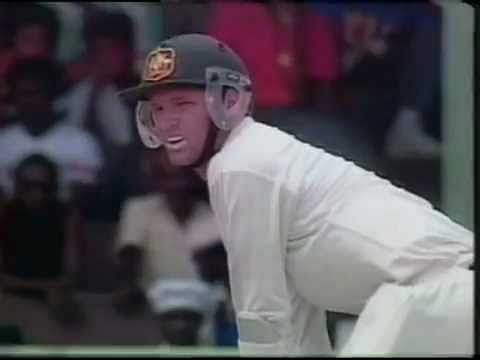 Video: Dean Jones bizarre run out!