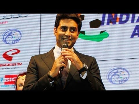 VIDEO: Abhishek Bachchan star guest at FPAI Indian Football Awards 2013