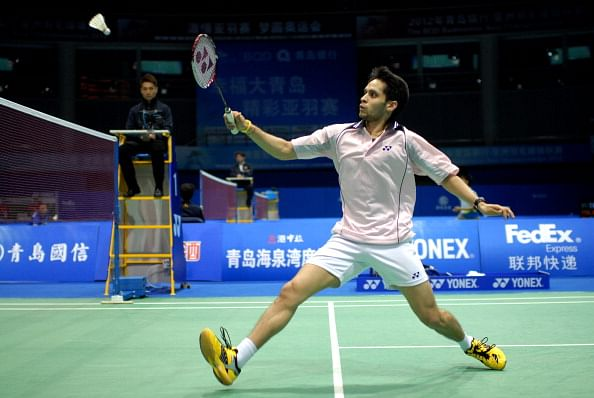 File Photo: Parupalli Kashyap of India (Getty Images)