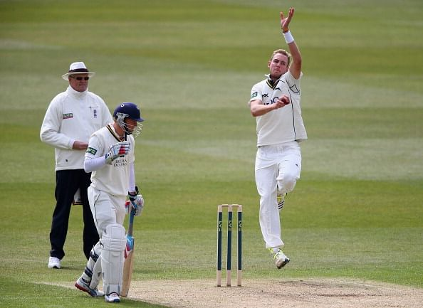 Stuart Broad hoping for swing at Lords