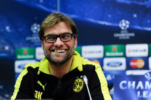 Borussia Dortmund Training Session & Press Conference