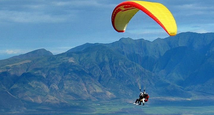 Sikkim turning into a hot spot for paragliding, adventure tourism