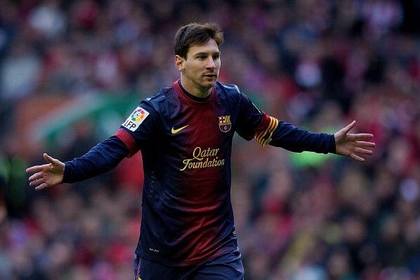 Lionel Messi Wallpaper 2012 13