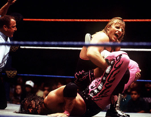 Owen Hart And Bret Hart The king of harts � owen hart