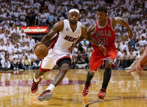 Bulls hand Heat 2nd straight loss