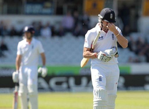 New Zealand take two wickets in England Test