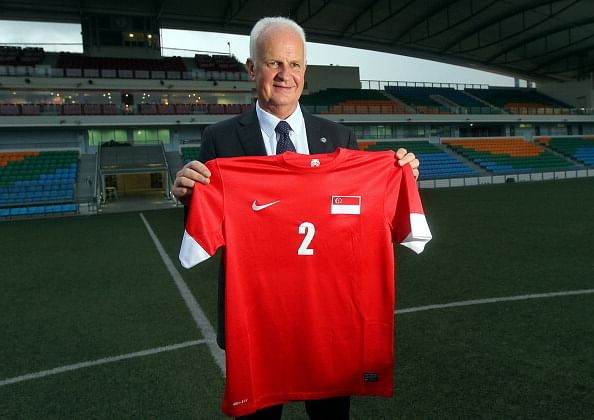 Singapore names Stange new football coach