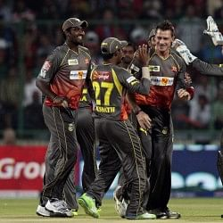 Sunrisers bundle out Daredevils for lowest total this season