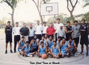 As part of the Tata Steel Team. Photo Courtesy: Vinay Sheoran