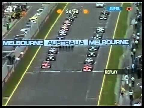 Video: Ralf Schumacher's massive crash at Australian GP