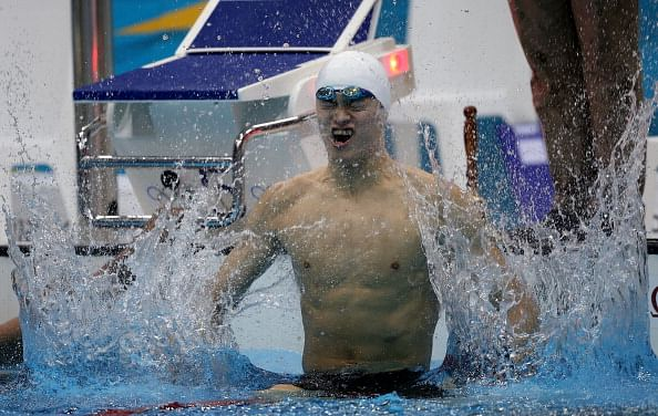 China's sports icon Sun Yang detained for illegal driving