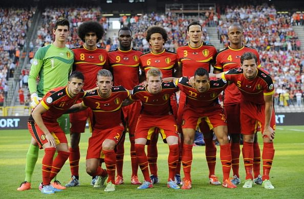 The rise of the Belgian national football team