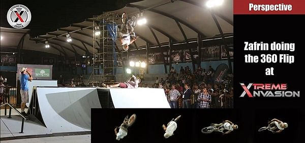 Exhilarating stunts at Extreme Invasion with Skateboarding, BMX and inline skating in Mumbai