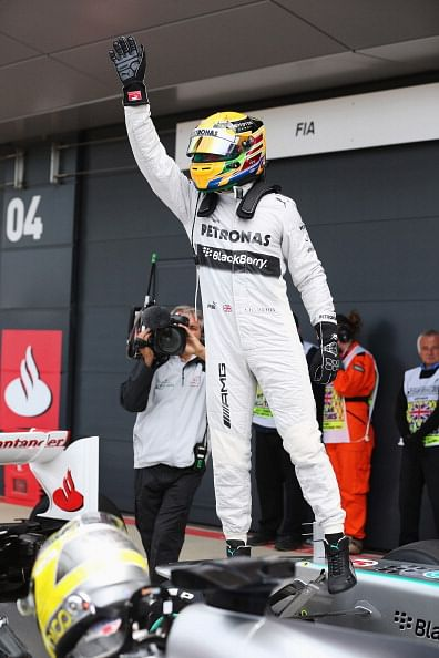 Hamilton on pole for British GP
