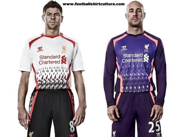 Liverpool Fc Unveil   Away Kit