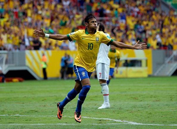 Neymar renews Brazil's number 10 love affair  Neymar renews B...