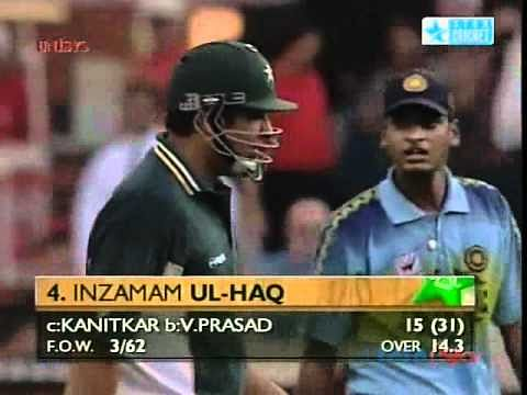 Video: Hrishikesh Kanitkar takes blinder to dismiss Inzamam-ul-Haq