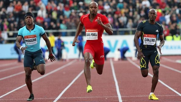 Athletes need to man up: Kim Collins on Asafa Powell