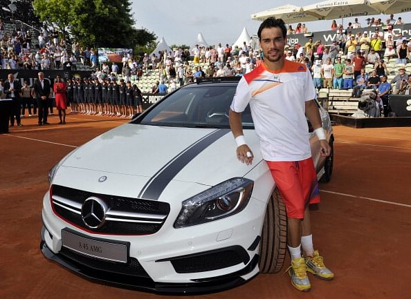 Fabio fognini wins maiden atp title for Mercedes benz germany internship