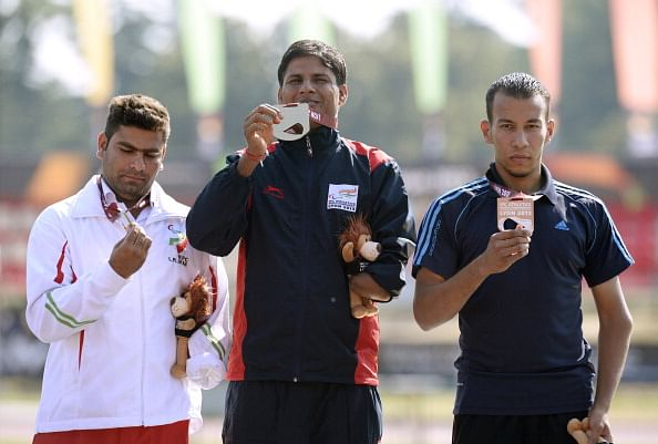 World Champion Devendra cries for para-athletes' recognition