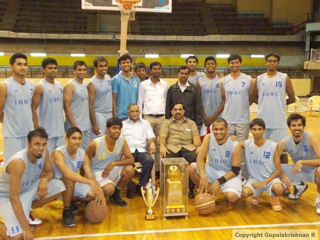 'B' Division Champions, Indiranagar Basketball Club.