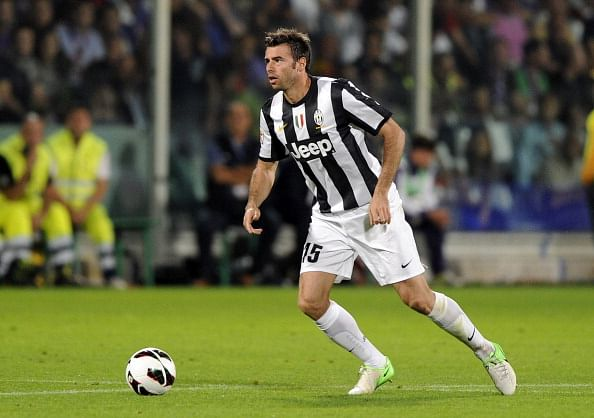 Player of the Season nominees: Andrea Barzagli
