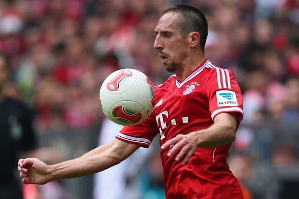 Player of the season nominees – Franck Ribéry