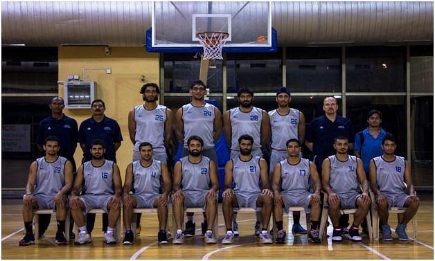 India team for FIBA Asia