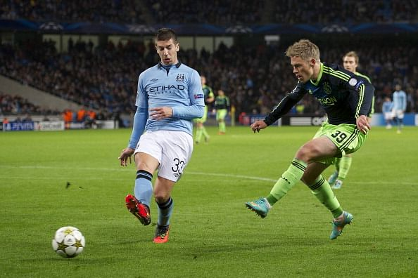 Rumour: Arsenal look to Manchester City's Matija Nastasic as cover for Thomas Vermaelen