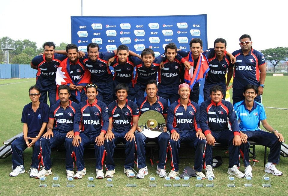 Nepal Cricket team File Photo