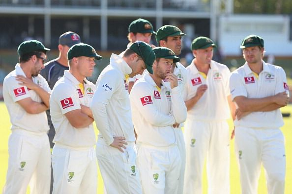 Stats: Australia losing (whitewash) every match in a Test series