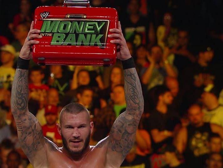WWE MITB Results Randy Orton Randy Orton Money In The Bank 2014