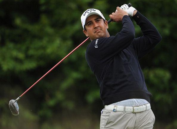 The Open Championship Shiv Kapur Gets Advice From Nick Faldo