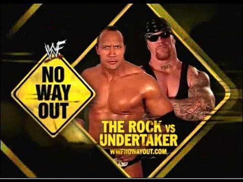 Video: WWF No Way Out 2002 - The Rock vs Undertaker