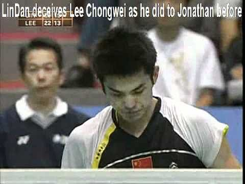 Video: Lee Chong Wei deceived by Lin Dan