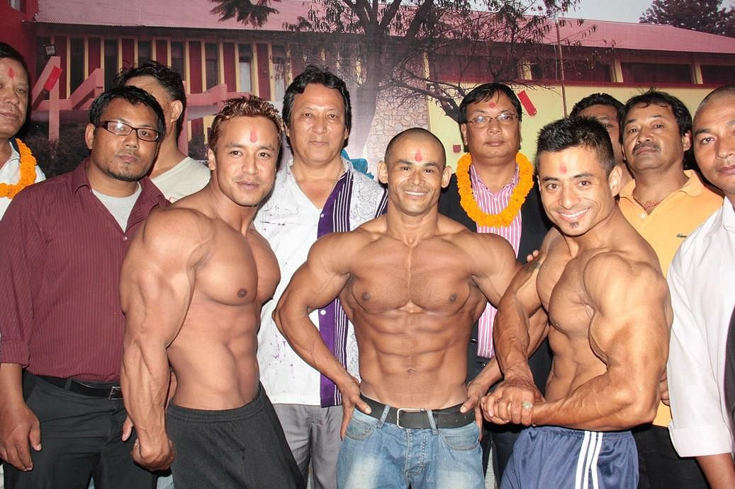 Nepali body builders leave for Vietnam to participate in the Asian Body Building Championship